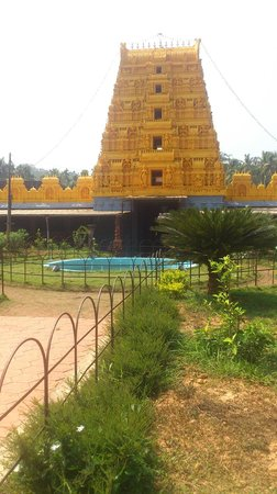 Kasaragod, India: Malla temple