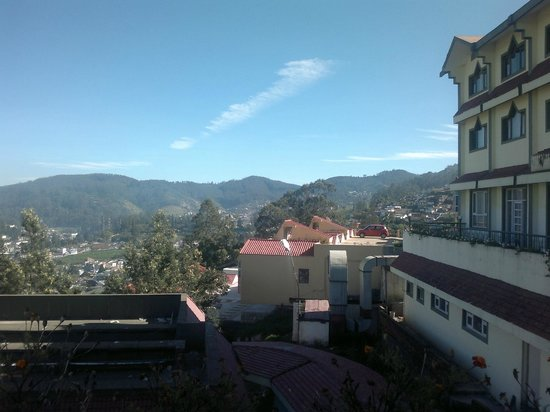 Ooty - Elk Hill, A Sterling Holidays Resort:                   View from hotel