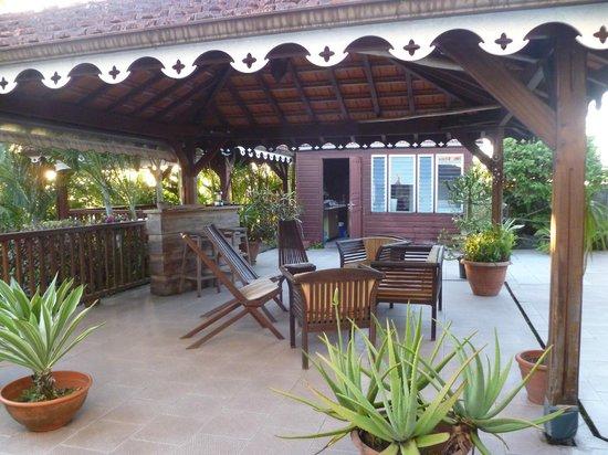 La Villa Sapotille:                   espace commun