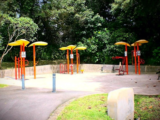 The Southern Ridges: More 'fitness stations'..