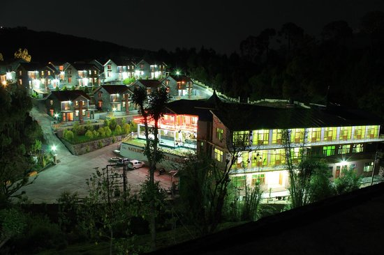 Nature Bloom Hotel & Resort:                   Night seen of this Hotel