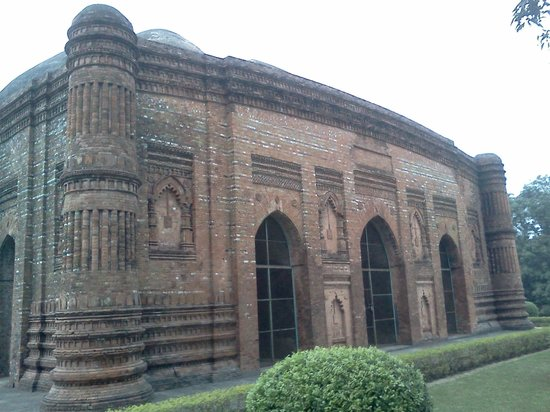 Malda, Indien:                   View from outside-3