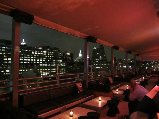 plunge Rooftop Bar & Lounge at Hotel Gansevoort: Panorama