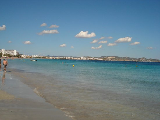 Grand Palladium Palace Ibiza Resort & Spa : Spiaggia