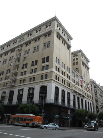 The Los Angeles Athletic Club Hotel:                   Hotel Exterior