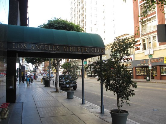 The Los Angeles Athletic Club:                   Hotel Entrance
