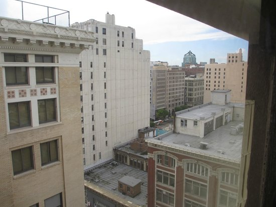 The Los Angeles Athletic Club Hotel:                   The view from my room