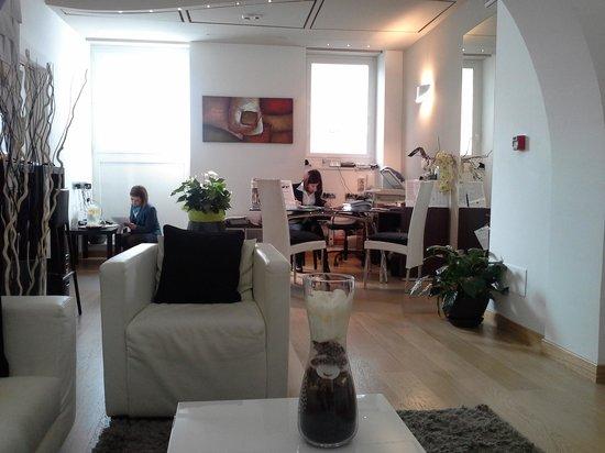 Hotel Trevi Collection:                   Recepcion Hotel