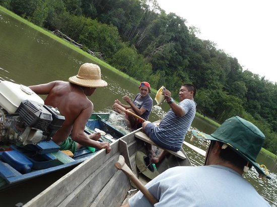 Amazon Tarzan Lodge: Locals' catch of the day