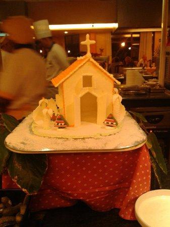Suite Hotel Elba Castillo San Jorge & Antigua:                                     Christmas Night Decorations