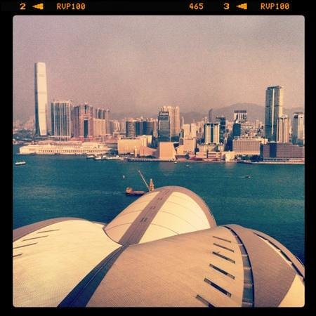 Renaissance Hong Kong Harbour View Hotel:                   view from the room