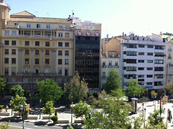 Hotel Juan Miguel:                   Utsikt från hotellrummet