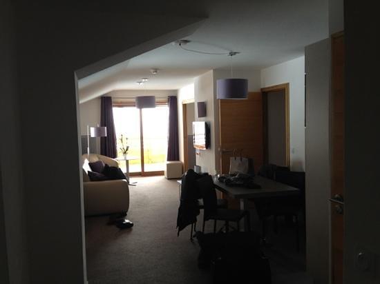 Hôtel Alpenrose :                   salon ch 130