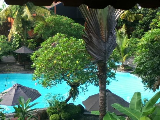 Dusun Jogja Village Inn:                                     View of pool from balcony