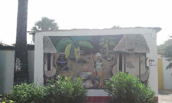 Palm tree bar amp restaurant palmtree cafe artwork