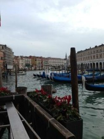 Foscari Palace:                   view from hotel
