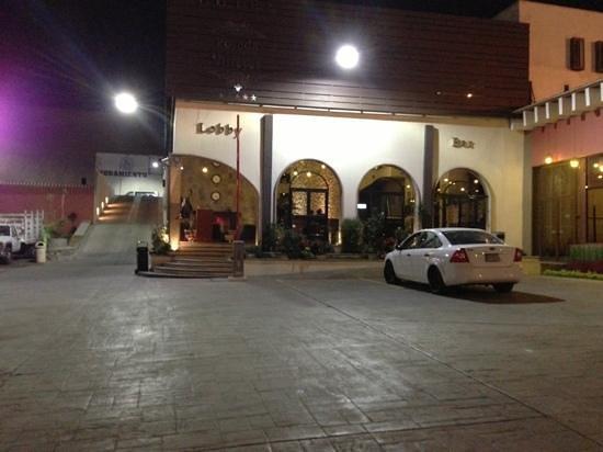 Hotel Posada Virreyes : Main building