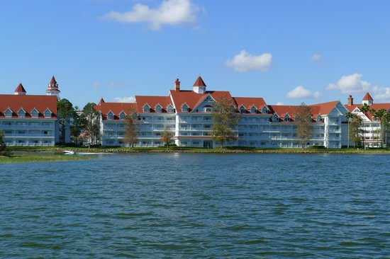 Disney's Grand Floridian Resort & Spa:                   Vista do lago