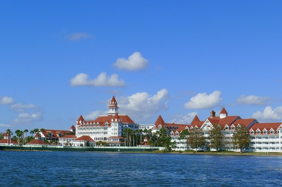 Disney's Grand Floridian Resort & Spa :                   Vista do lago