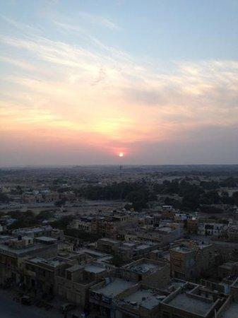 Hotel Deep Mahal:                   the view