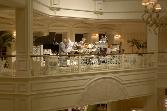 Disney's Grand Floridian Resort & Spa:                   Jazz at night