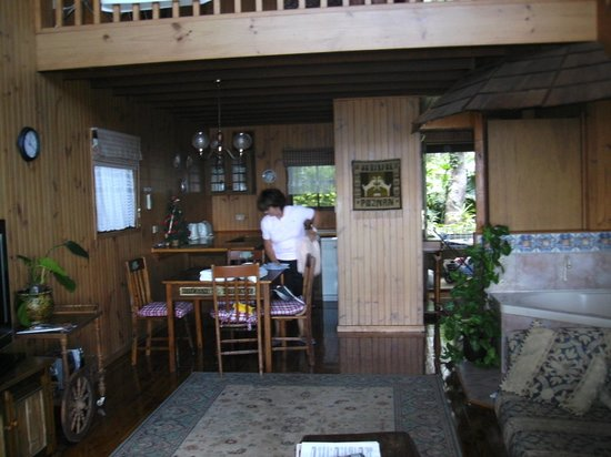 The Polish Place:                   Inside one of the chalets