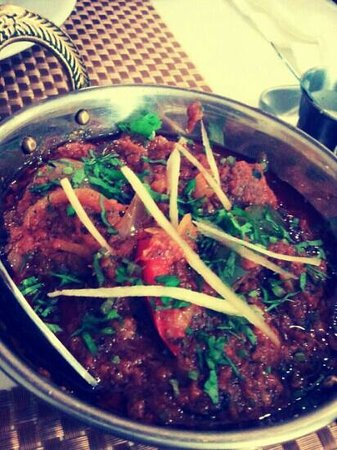 Indian House Restaurant:                   lamb