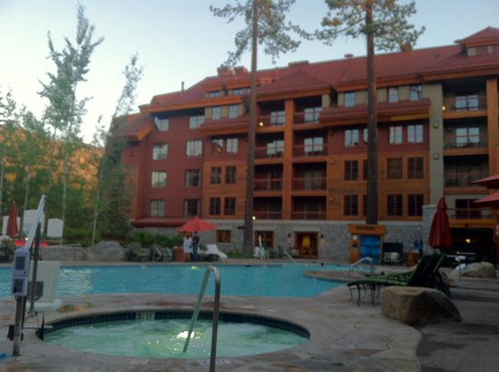 Grand Residences by Marriott, Tahoe - 1 to 3 bedrooms & Pent.:                   View from pool area