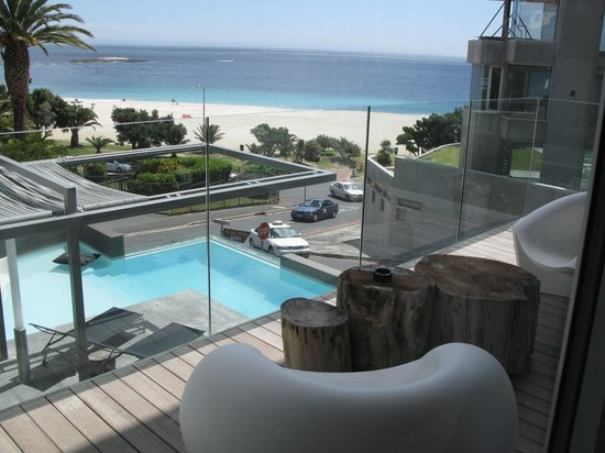 POD Camps Bay:                   view from room 101