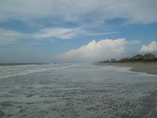 Oak Island, NC: Time for a walk on the beach