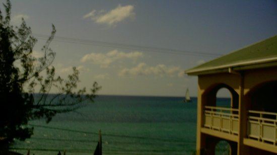 Sandals Inn:                                     Water view from room
