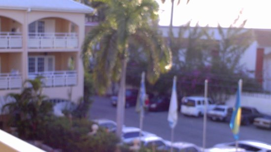 Sandals Carlyle:                                     View from the room