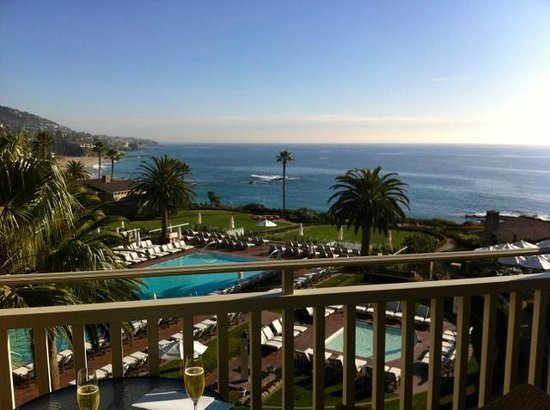 Montage Laguna Beach: View from our balcony