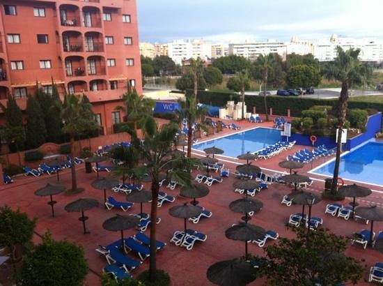 Myramar Fuengirola Hotel:                   view from our room