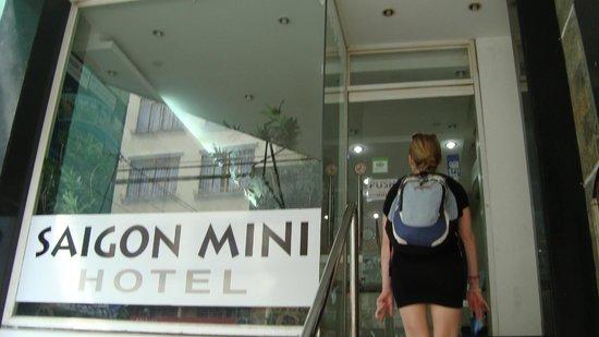 Meraki Hotel: Eingang