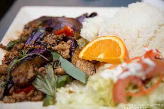 Bangkok Cuisine:                                                                                           Eggpla