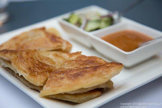 Bangkok Cuisine:                                                                                           Roti
