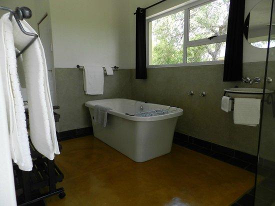 Isilimela Game Lodge: Bathroom