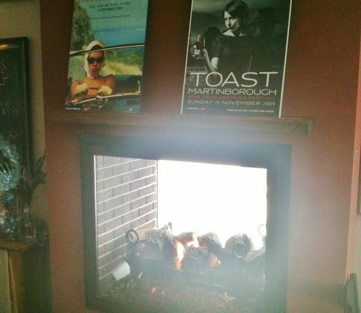 The Port: Fireplace
