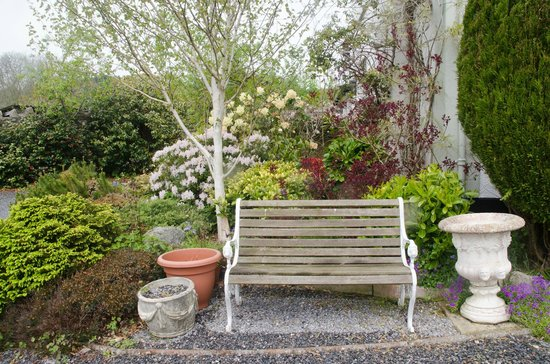 Lovely Bench at Moorcote Country Guest House