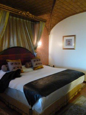 Fortaleza do Guincho: Bed