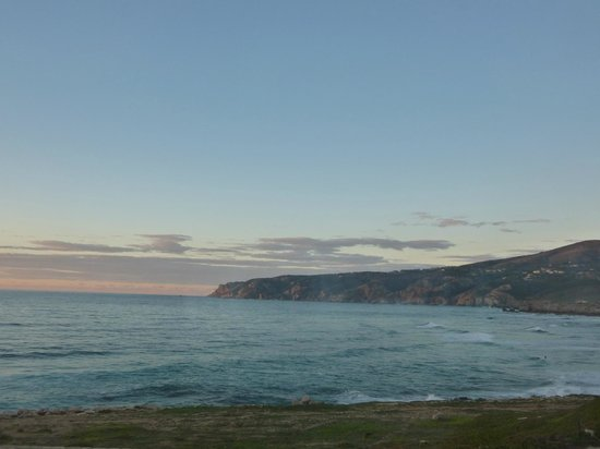 Fortaleza do Guincho: View at sunset