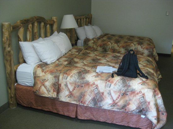 Best Western East Zion Thunderbird Lodge:                                                       Davy Crockett bed
