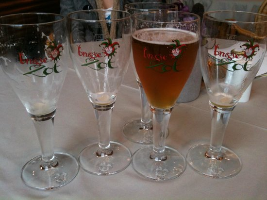 De Halve Maan Brewery: Excellent beer!