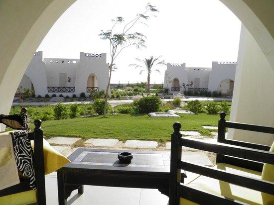 ฮิลตันมาซาอลัมนูเบียนรีสอร์ท: Hilton Nubian Resort - terrace