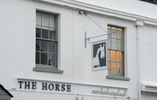 The Horse:                                     The White Horse Inn