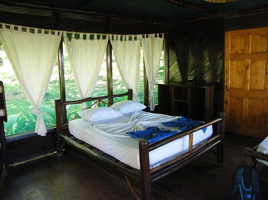 Punta Marenco Lodge:                   Our room #9