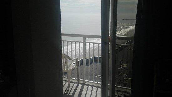 Paradise Resort: inside view of beach