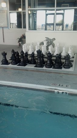 Paradise Resort: Chess anyone??