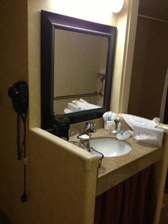 BEST WESTERN PLUS Raffles Inn & Suites:                   vanity